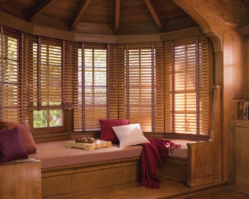 Деревянные шторы на окна своими руками
